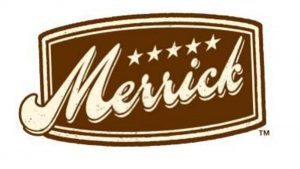 Brown logo of Merrick.